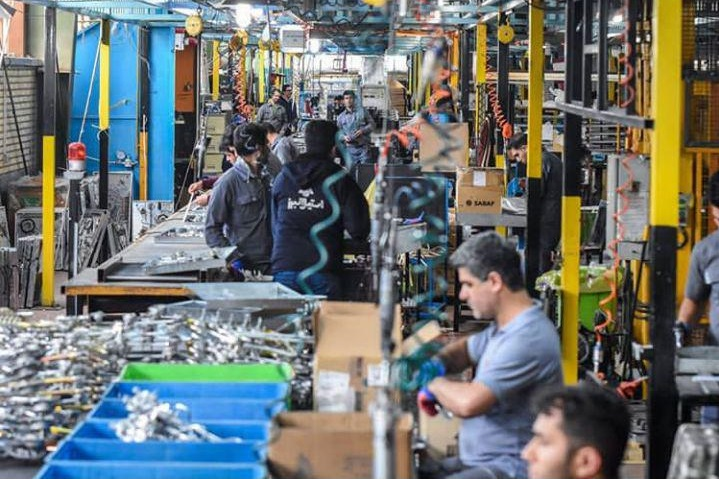 تولید 65 هزار تن آهن اسفنجی در یک ماه